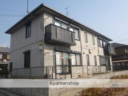 滋賀県大津市、比叡山坂本駅徒歩64分の築18年 2階建の賃貸アパート