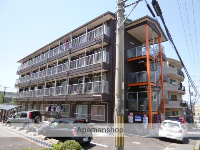滋賀県草津市、草津駅徒歩55分の築29年 4階建の賃貸マンション