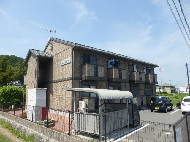 滋賀県大津市、比叡山坂本駅徒歩43分の築10年 2階建の賃貸アパート