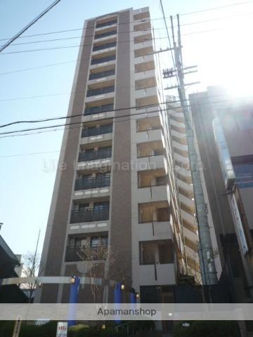 滋賀県大津市、大津駅徒歩11分の築17年 14階建の賃貸マンション