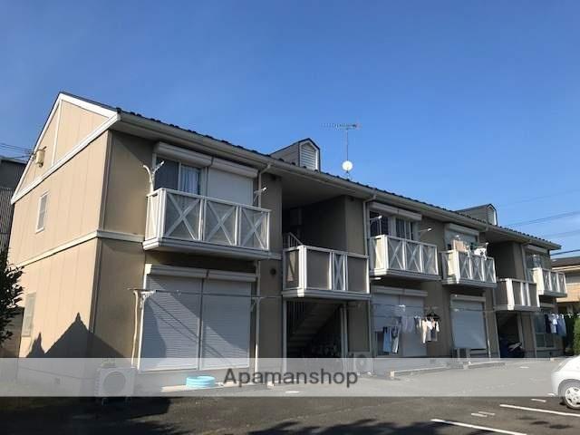 滋賀県大津市、大津京駅徒歩6分の築24年 2階建の賃貸アパート