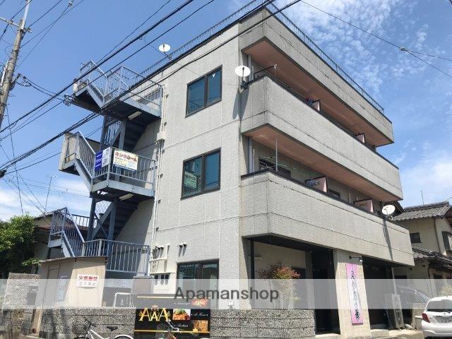 滋賀県大津市、堅田駅徒歩4分の築26年 3階建の賃貸アパート