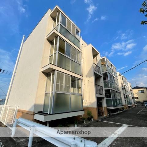 滋賀県栗東市、手原駅徒歩14分の築41年 3階建の賃貸マンション