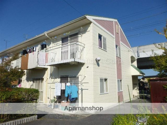 滋賀県大津市、和邇駅徒歩5分の築23年 2階建の賃貸アパート