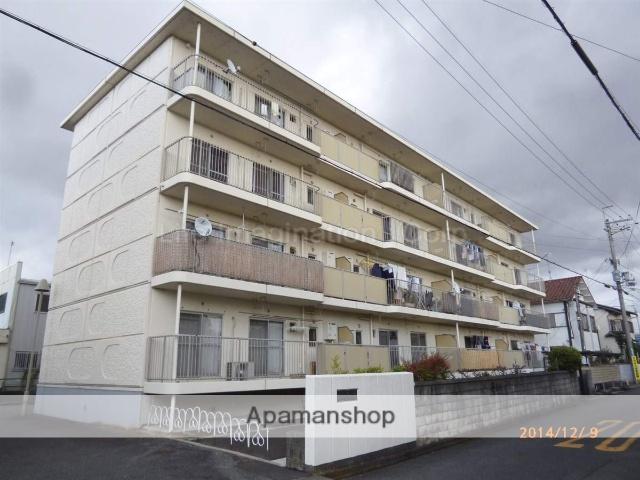 滋賀県栗東市、栗東駅徒歩33分の築33年 4階建の賃貸マンション