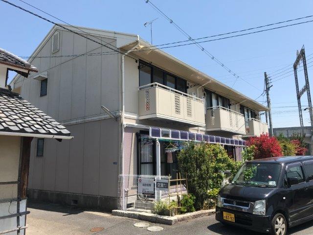 滋賀県大津市、おごと温泉駅徒歩64分の築25年 2階建の賃貸アパート