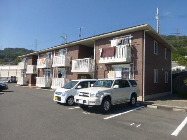 滋賀県大津市、唐崎駅徒歩30分の築8年 2階建の賃貸アパート