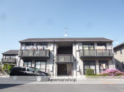 滋賀県栗東市、手原駅徒歩23分の築19年 2階建の賃貸アパート