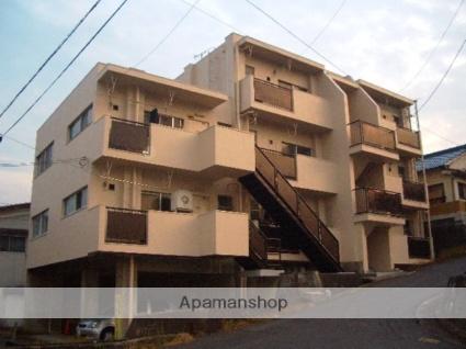 滋賀県大津市、石山駅徒歩21分の築46年 3階建の賃貸マンション