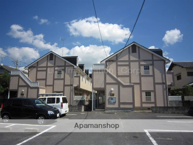 滋賀県大津市、唐崎駅徒歩25分の築25年 2階建の賃貸アパート