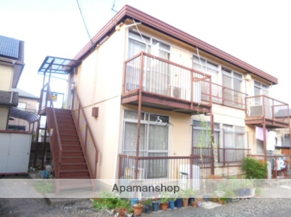 滋賀県大津市、膳所駅徒歩9分の築38年 2階建の賃貸アパート