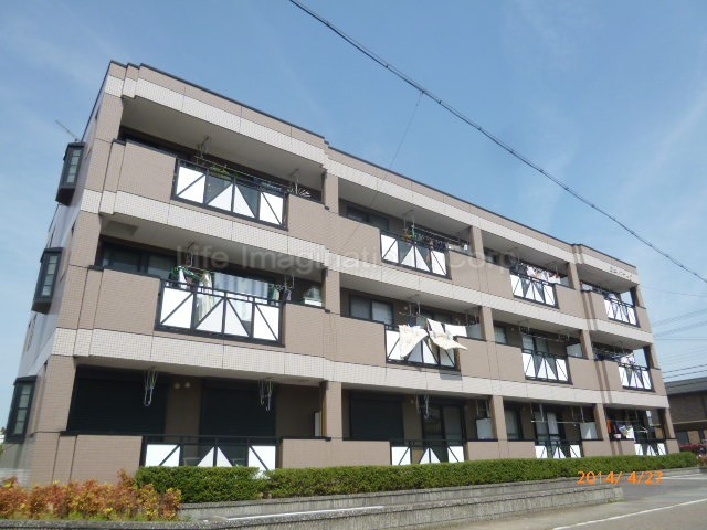 滋賀県栗東市、手原駅徒歩24分の築16年 3階建の賃貸マンション