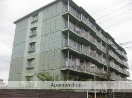 滋賀県草津市、栗東駅徒歩36分の築24年 5階建の賃貸マンション