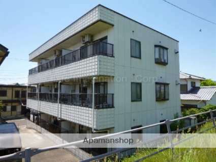滋賀県草津市、栗東駅徒歩64分の築27年 3階建の賃貸マンション