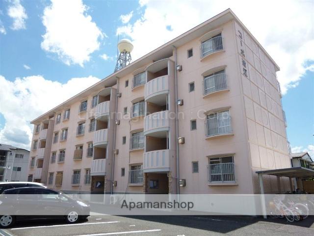 滋賀県栗東市、手原駅徒歩42分の築35年 4階建の賃貸マンション