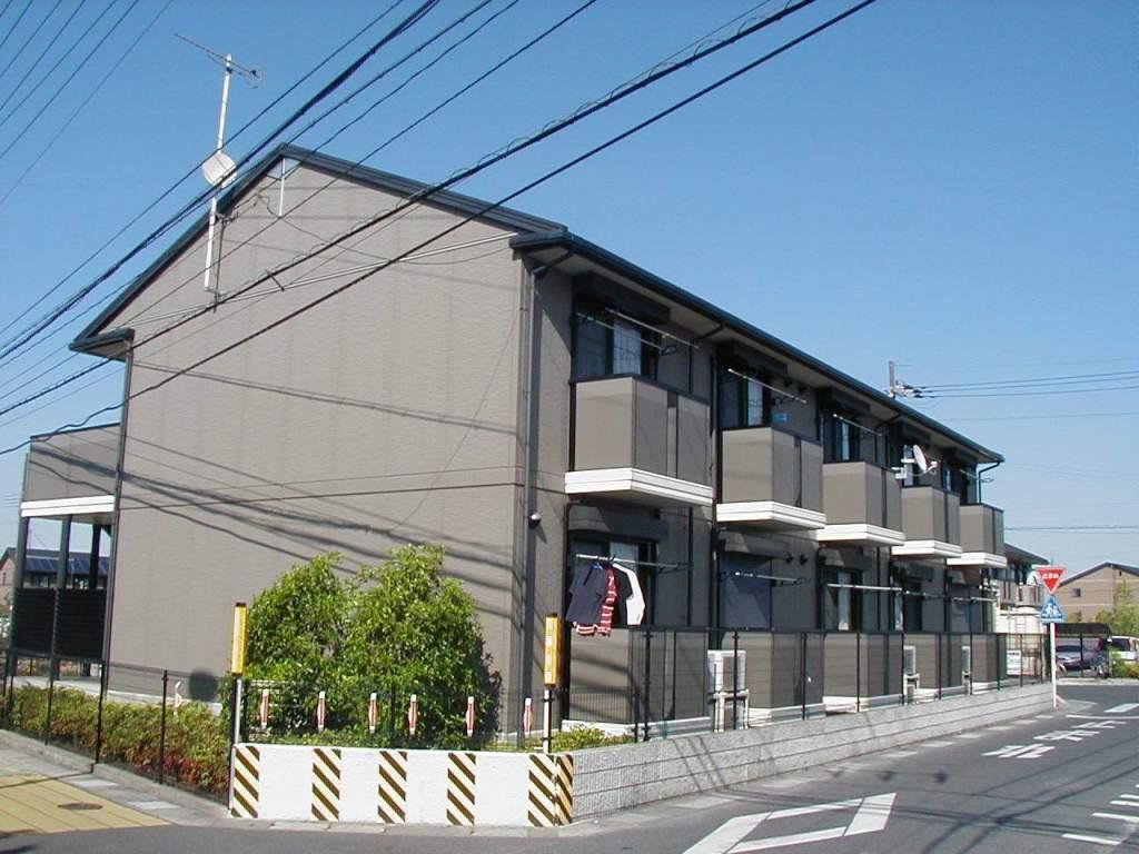 滋賀県草津市、草津駅徒歩48分の築16年 2階建の賃貸アパート