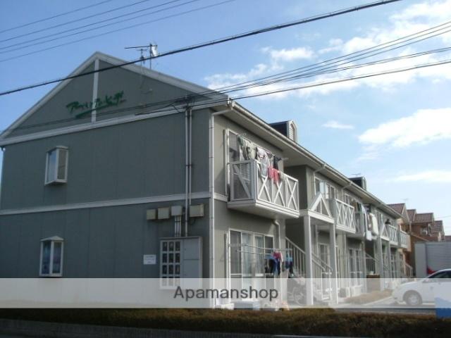 滋賀県近江八幡市、近江八幡駅徒歩15分の築22年 2階建の賃貸アパート