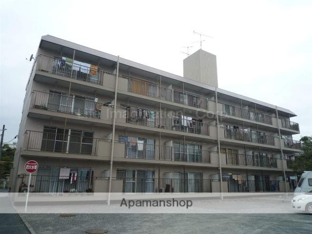 滋賀県野洲市、篠原駅徒歩77分の築35年 4階建の賃貸マンション