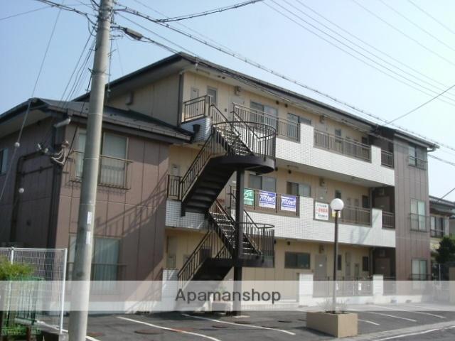 滋賀県近江八幡市、篠原駅徒歩3分の築27年 3階建の賃貸マンション