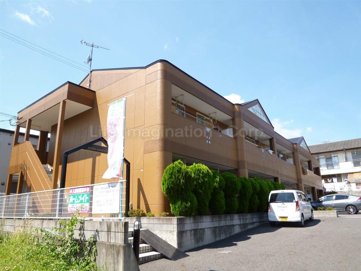 滋賀県大津市、大津京駅徒歩30分の築20年 2階建の賃貸マンション