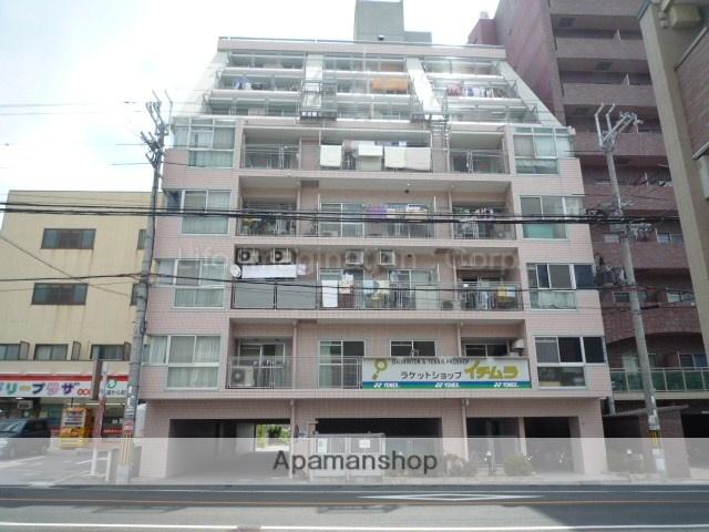 滋賀県大津市、大津京駅徒歩4分の築21年 9階建の賃貸マンション