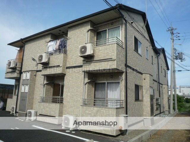 滋賀県大津市、比叡山坂本駅徒歩17分の築12年 2階建の賃貸アパート