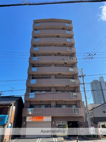 滋賀県大津市、大津駅徒歩6分の築10年 10階建の賃貸マンション