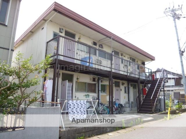 滋賀県近江八幡市、近江八幡駅徒歩8分の築43年 2階建の賃貸アパート