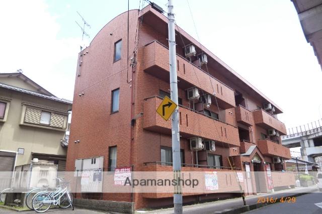 滋賀県草津市、草津駅徒歩7分の築17年 3階建の賃貸マンション