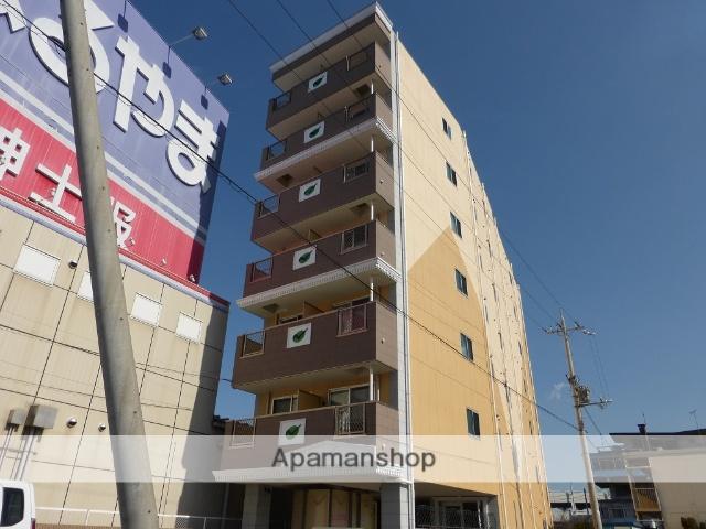 滋賀県大津市、大津京駅徒歩10分の築5年 7階建の賃貸マンション