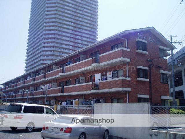 滋賀県大津市、大津京駅徒歩2分の築27年 3階建の賃貸マンション