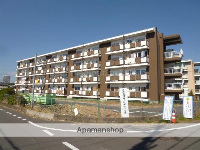 滋賀県草津市、草津駅徒歩18分の築49年 4階建の賃貸アパート