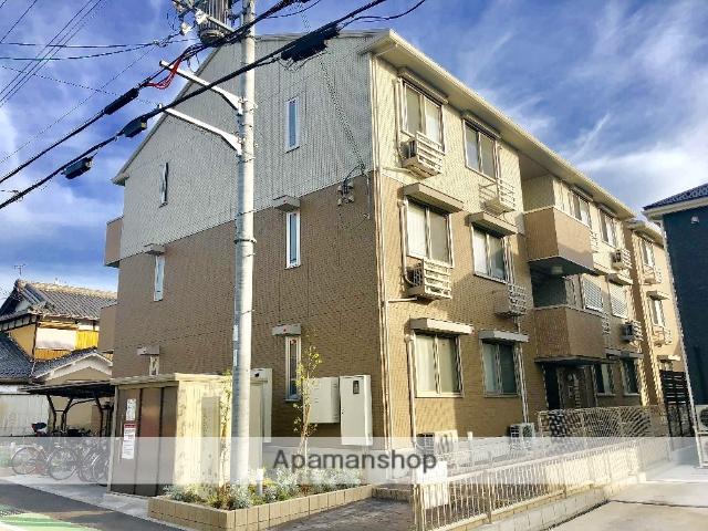 滋賀県草津市、栗東駅徒歩53分の新築 3階建の賃貸アパート