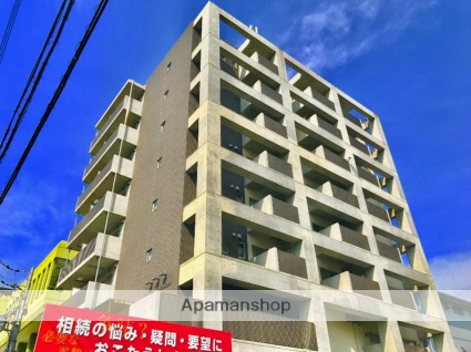 滋賀県大津市、膳所駅徒歩12分の築8年 8階建の賃貸マンション
