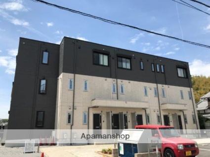 滋賀県大津市、おごと温泉駅徒歩43分の築1年 3階建の賃貸アパート