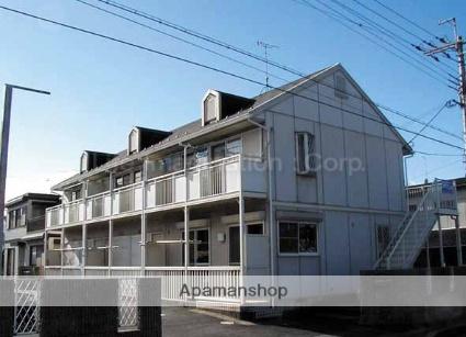 滋賀県大津市、南草津駅徒歩43分の築23年 2階建の賃貸アパート