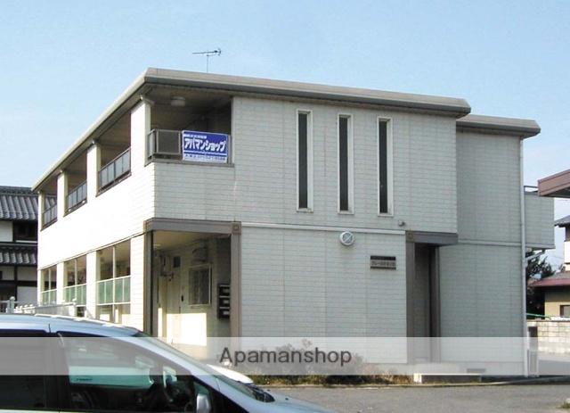 滋賀県大津市、比叡山坂本駅徒歩16分の築21年 2階建の賃貸アパート