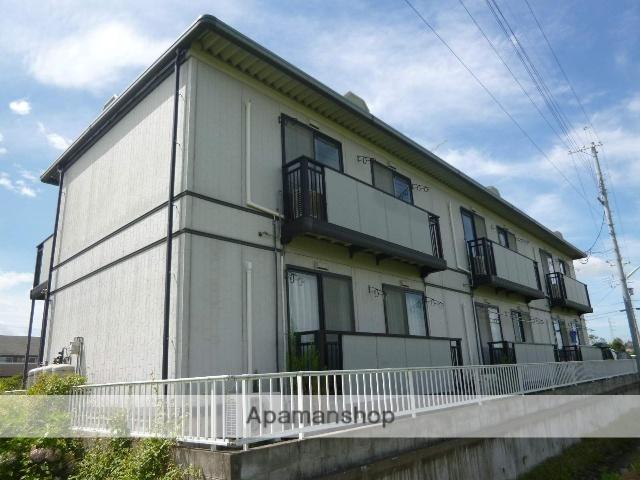 滋賀県高島市、安曇川駅徒歩9分の築20年 2階建の賃貸アパート