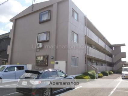 滋賀県高島市、新旭駅徒歩5分の築20年 3階建の賃貸マンション