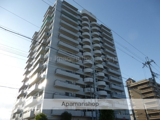 滋賀県大津市、おごと温泉駅徒歩44分の築25年 14階建の賃貸マンション