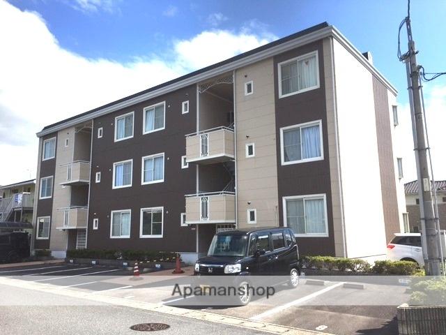 滋賀県大津市、堅田駅徒歩10分の築22年 3階建の賃貸アパート
