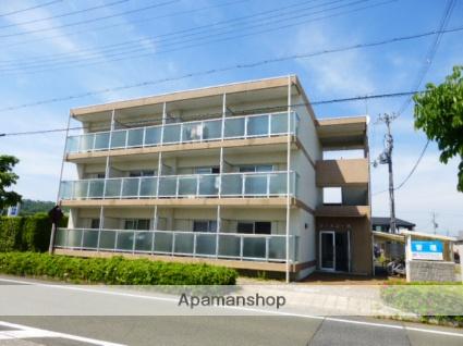 滋賀県高島市、新旭駅徒歩5分の築23年 3階建の賃貸マンション