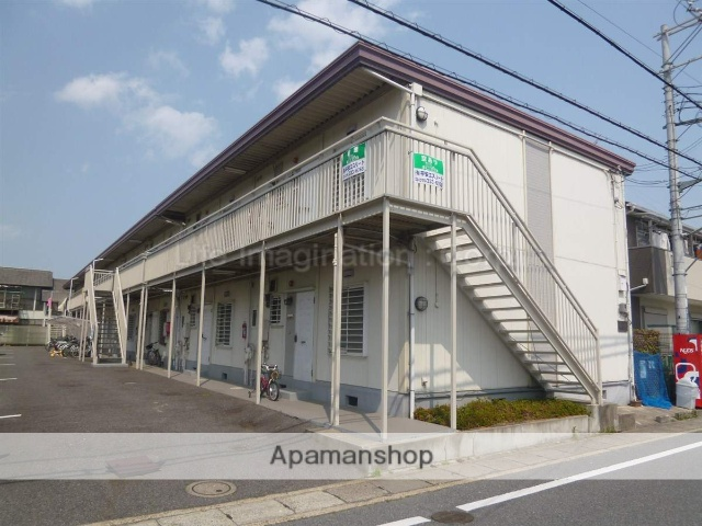 滋賀県大津市、唐崎駅徒歩9分の築27年 2階建の賃貸アパート