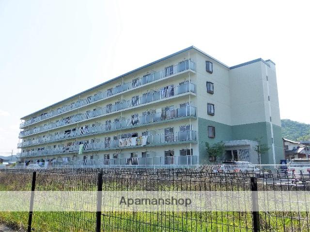 滋賀県大津市、大津京駅徒歩22分の築23年 5階建の賃貸マンション