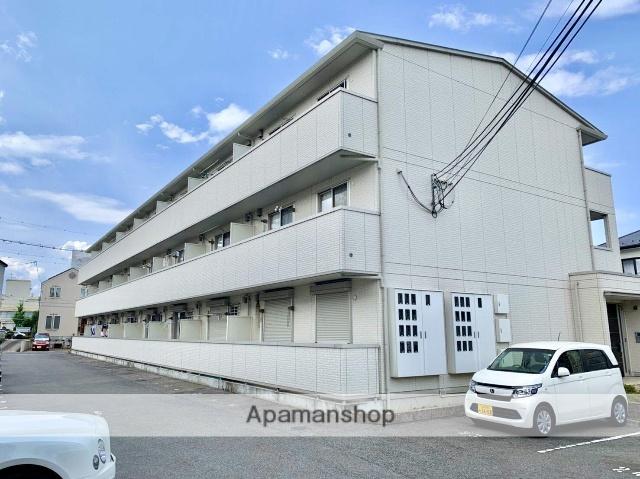 滋賀県大津市、南草津駅徒歩50分の築7年 3階建の賃貸アパート