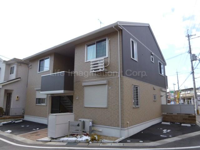 滋賀県大津市、比叡山坂本駅徒歩6分の築5年 2階建の賃貸アパート