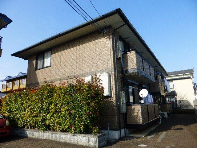 滋賀県大津市、おごと温泉駅徒歩54分の築15年 2階建の賃貸アパート