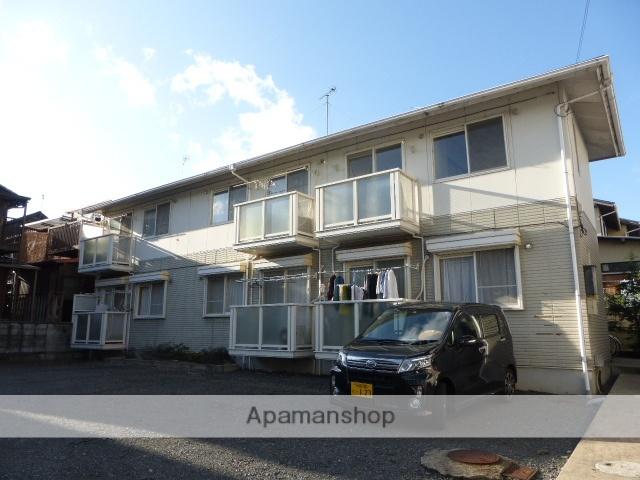 滋賀県大津市、大津京駅徒歩8分の築23年 2階建の賃貸アパート