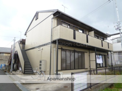 滋賀県大津市、大津京駅徒歩20分の築21年 2階建の賃貸アパート