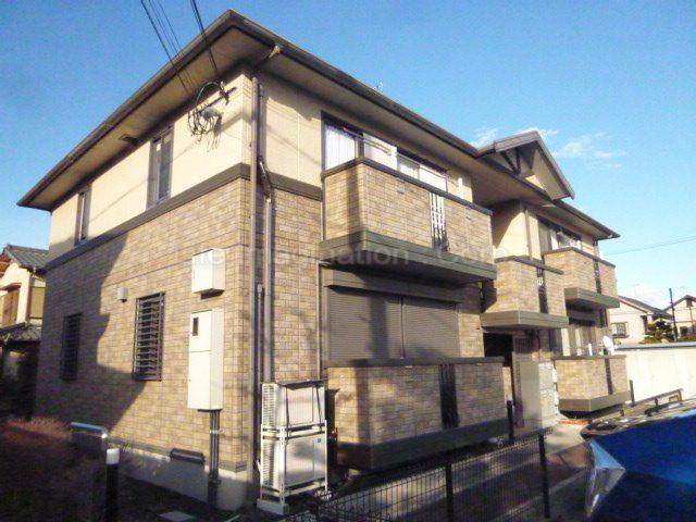 滋賀県大津市、膳所駅徒歩20分の築11年 2階建の賃貸アパート